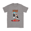 NFL - Cleveland Browns Rick And Morty Football NFL Shirts-T-shirt-Gildan Womens T-Shirt-Sport Grey-S-PopsSpot