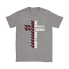 NFL – All I Need Today Is A Little Bit Of Arizona Cardinals And A Whole Lot Of Jesus Football Shirts-T-shirt-Gildan Womens T-Shirt-Sport Grey-S-Itees Global