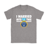 NFL - I Married Into This Indianapolis Colts Football Sweatshirt-T-shirt-Gildan Womens T-Shirt-Sport Grey-S-PopsSpot