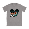 NFL – Cincinnati Bengals Mickey Mouse Football Shirts-T-shirt-Gildan Womens T-Shirt-Sport Grey-S-PopsSpot