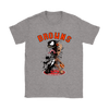 NFL – Cleveland Browns Venom Groot Guardian Of The Galaxy Football Shirts-T-shirt-Gildan Womens T-Shirt-Sport Grey-S-Itees Global