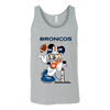 NFL – Denver Broncos Mickey Mouse Super Bowl Football Shirt-T-shirt-Canvas Unisex Tank-Athletic Grey-S-Itees Global