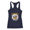 NFL – Awesome Minnesota Vikings Football Shirts-T-shirt-Next Level Racerback Tank-Navy-XS-PopsSpot