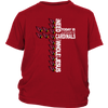 NFL – All I Need Today Is A Little Bit Of Arizona Cardinals And A Whole Lot Of Jesus Football Shirts-T-shirt-District Youth Shirt-Red-XS-Itees Global