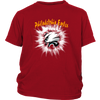 NFL – Awesome Philadelphia Eagles Football Shirts-T-shirt-District Youth Shirt-Red-XS-Itees Global