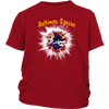 NFL – Awesome Baltimore Ravens Football Shirts-T-shirt-District Youth Shirt-Red-XS-PopsSpot