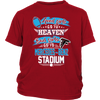 NFL – Good Girls Go To Heaven Bad Girls Go To Mercedes-Benz Stadium Atlanta Falcons Football Sweatshirt-T-shirt-District Youth Shirt-Red-XS-PopsSpot