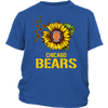 NFL - Chicago Bears Sunflower Football NFL Shirts-T-shirt-District Youth Shirt-Royal Blue-XS-Itees Global