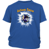 NFL – Awesome Baltimore Ravens Football Shirts-T-shirt-District Youth Shirt-Royal Blue-XS-PopsSpot