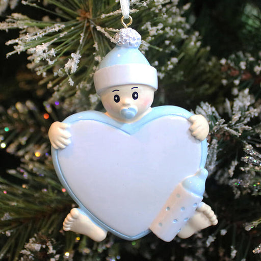 Baby's First Personalized Christmas Ornament #61254