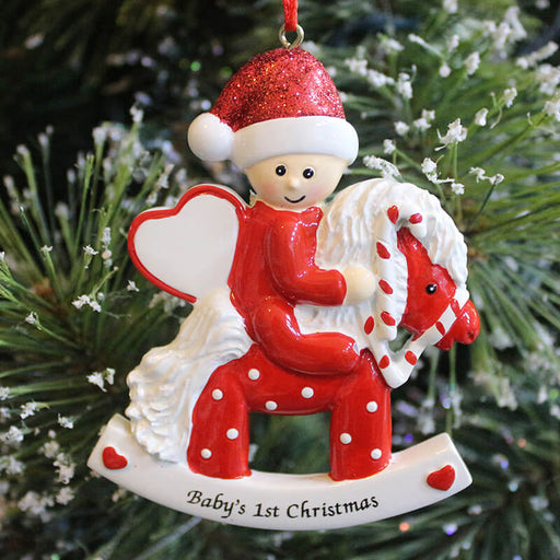 Baby's First Personalized Christmas Ornament #61260