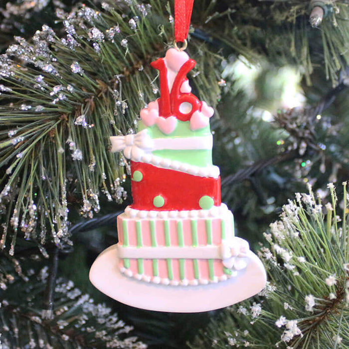 Cake Of Single Christmas ornament # 61273