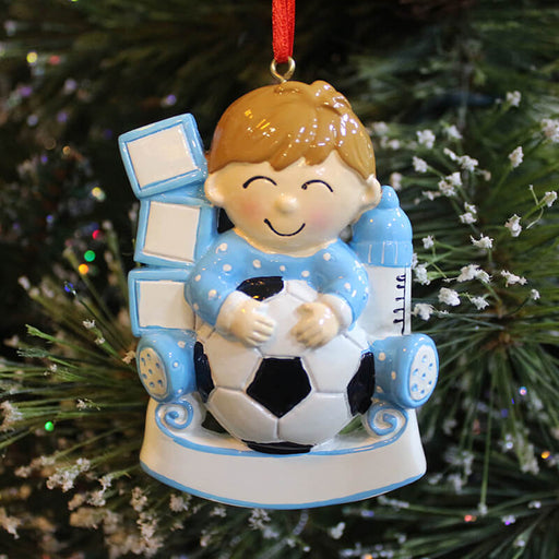 Soccer boy Of  Christmas Ornament #61305