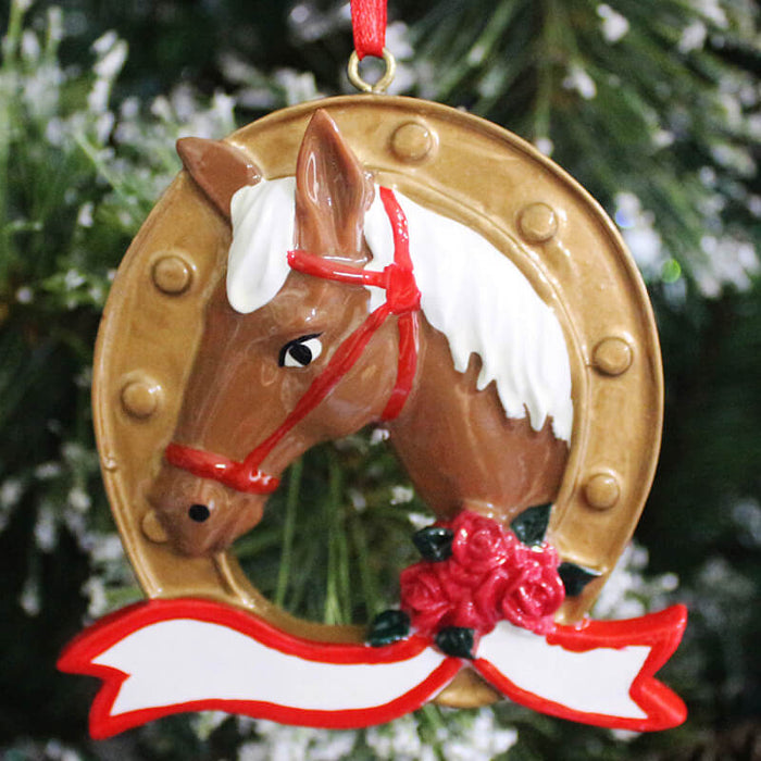 Horse Of Single  Christmas Ornament #61327