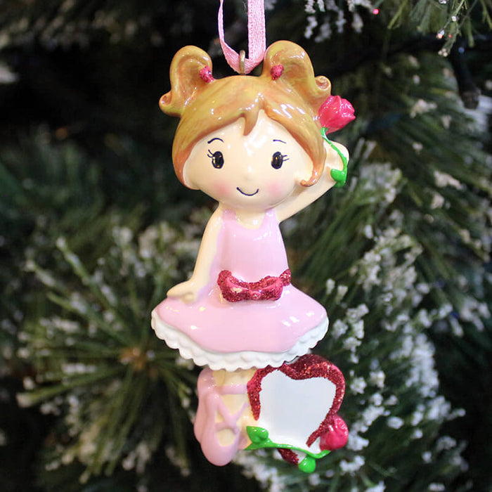 Baby girl of Single  Christmas Ornament #61351