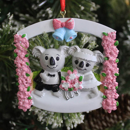 Couple Christmas Ornament#61359