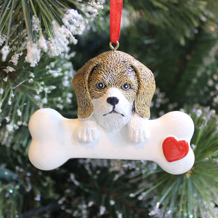 Personalized Dog Ornaments # 61368