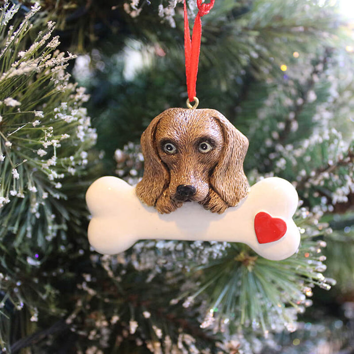 Personalized Dog Ornaments # 61383