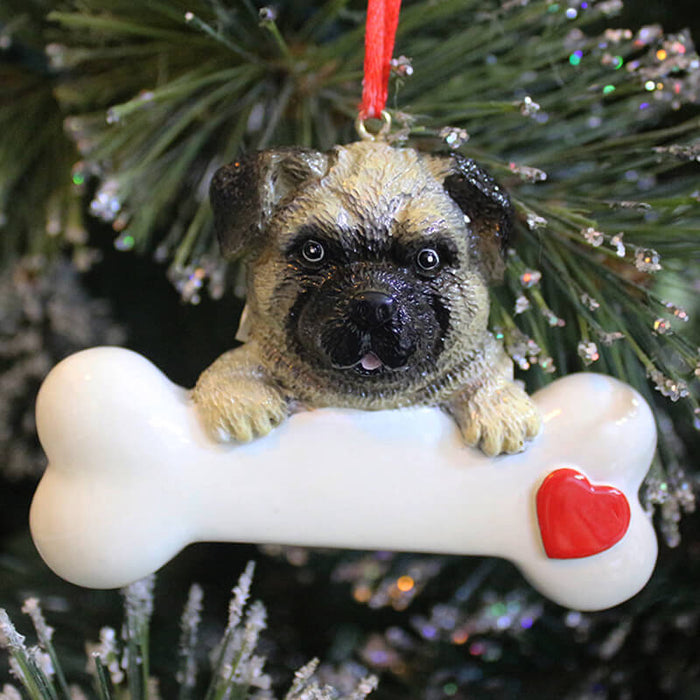 Personalized Dog Ornaments # 61388