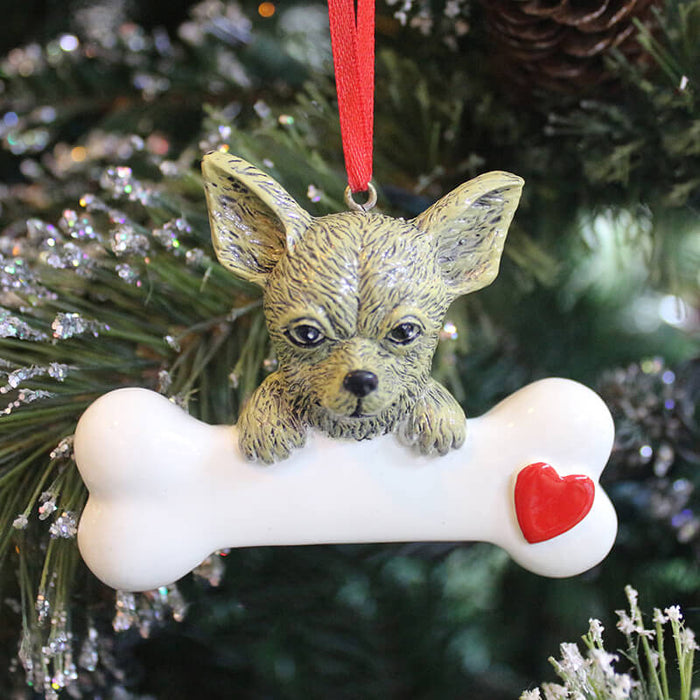 Personalized Dog Ornaments # 61394