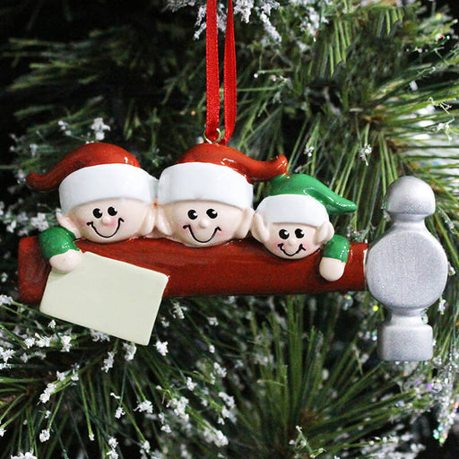 Family Member Christmas Ornaments #