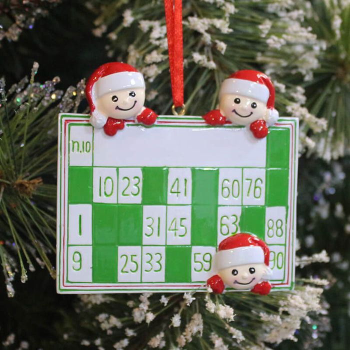 Family  Christmas Ornaments #61404