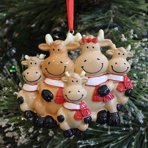 Cow Of Family  Christmas Ornaments #61416