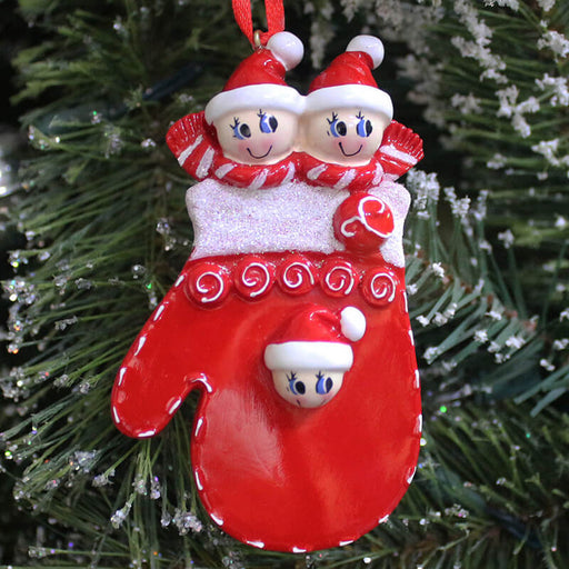 Sock Family Christmas Ornament #61426