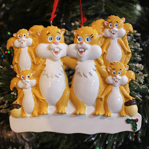 Fox Of Family Christmas Ornament #61430