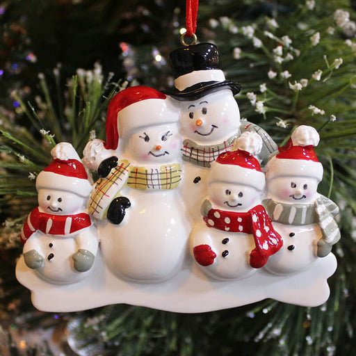 Snowman Family Christmas Ornament #61433