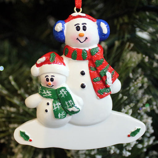 Snowman Of Family Christmas Ornament #61442