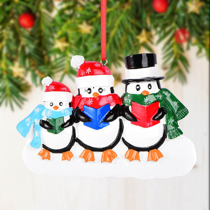 Penguin Of Family Christmas Ornament #61533