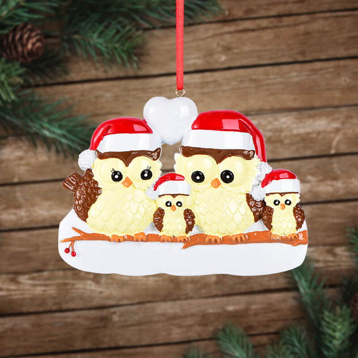 Owl Of Family Christmas Ornament #61537