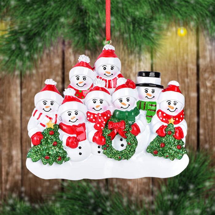 Snowman Of Family Christmas Ornament #61543