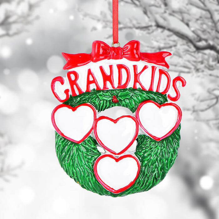 Personalized Family Grandkids Ornaments #61568