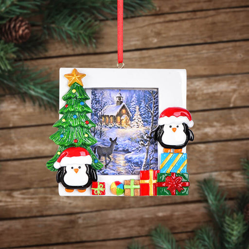 Personalized Christmas Penguin Of photo Frame #61580