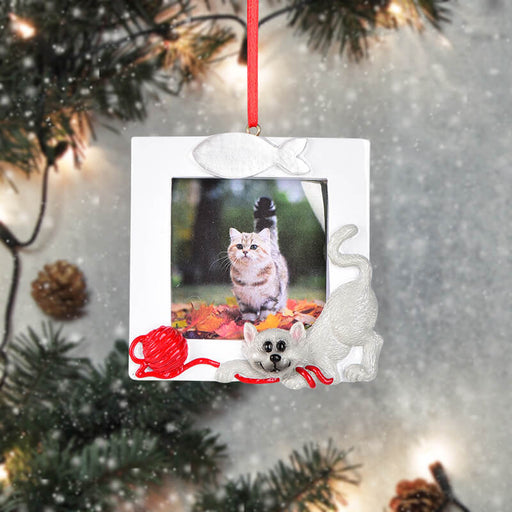 Personalized Christmas With Puppy photo Frame #61584