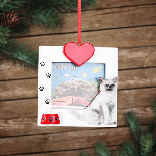 Personalized Christmas With Puppy photo Frame #61585