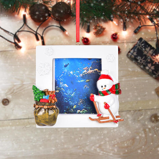 Personalized Christmas Snowman photo Frame #61591