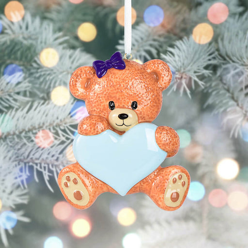 Baby Bear Personalized Christmas Ornament