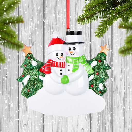Couple Christmas Ornament#61623