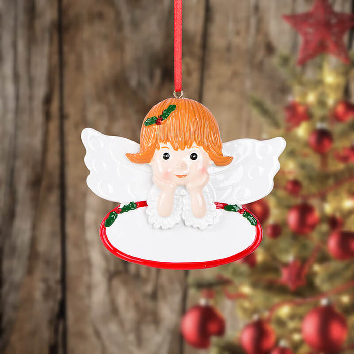 Personalized Angel girl of  Christmas Ornament #61625