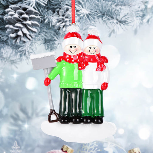 Couple Christmas Ornament #61629