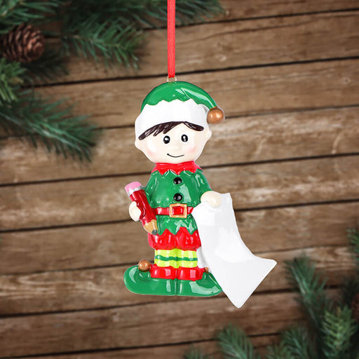 Single Baby Boy of  Christmas Ornament #61635