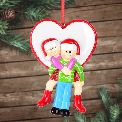 Couple Christmas Ornament #61649
