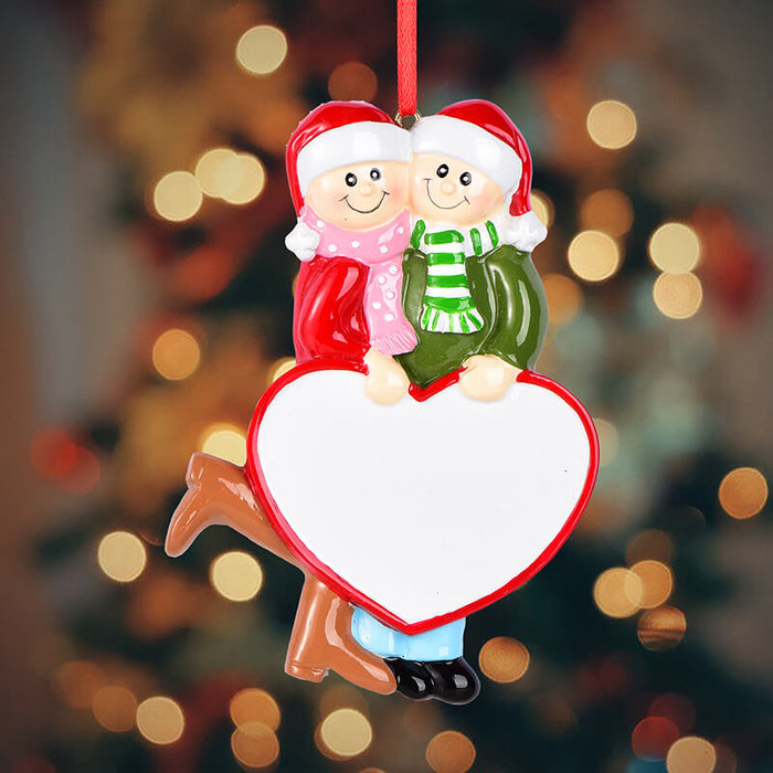 Couple Christmas Ornament #61650