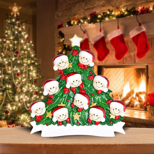 Christmas Tree  of Family Table Topper #62560-10