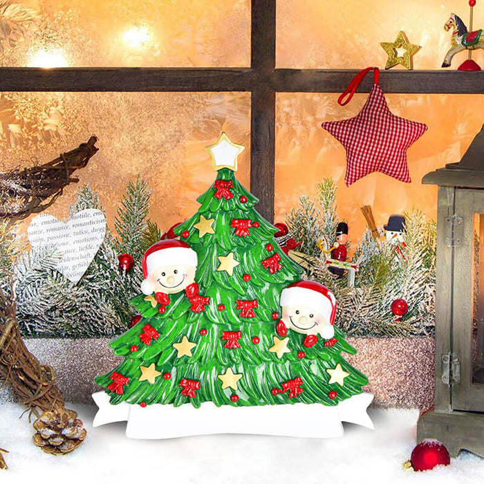 Christmas Tree  of Family Table Topper #62560-2