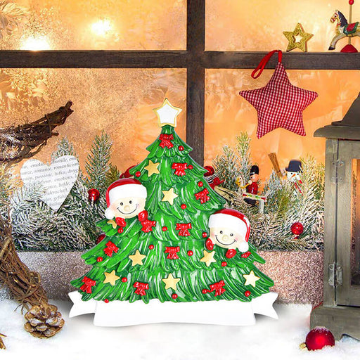 Christmas Tree  of Family Table Topper #62560