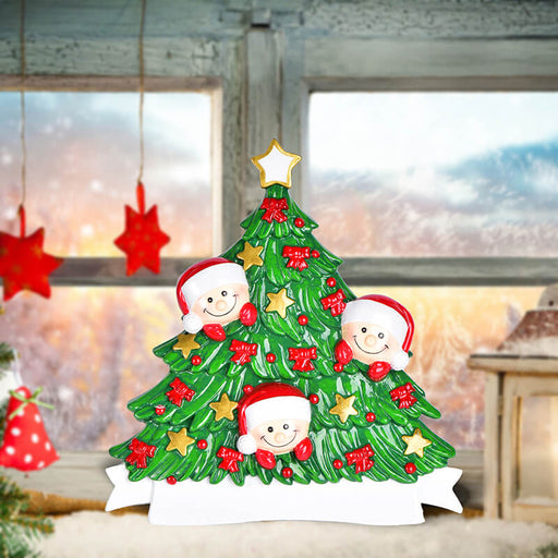 Christmas Tree  of Family Table Topper #62560-3